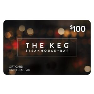$100 Keg Gift Card #1