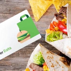 $100 Uber Eats Gift Card #1